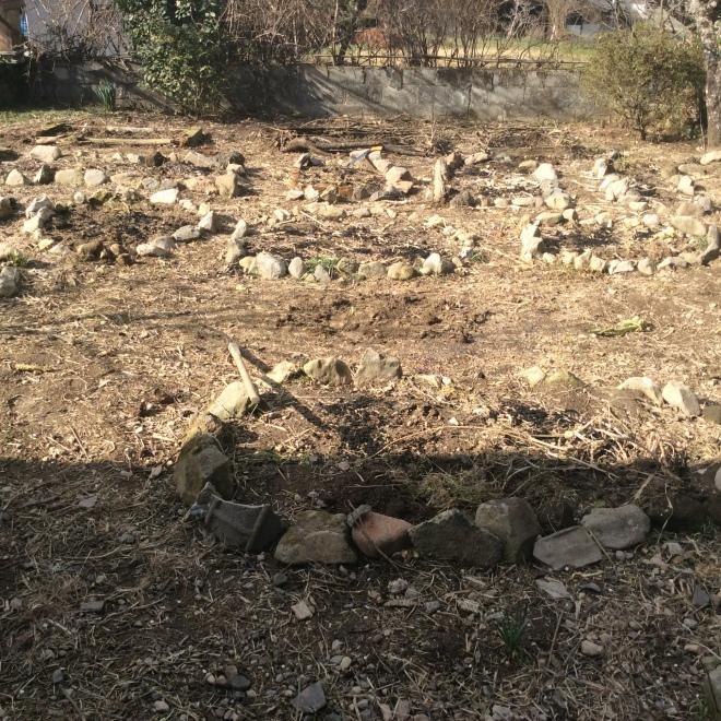 Stone circle /Kitchen garden